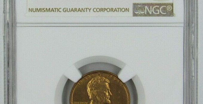 1937-S Lincoln Cent MS65RD NGC