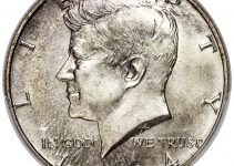 1964 Kennedy Half Dollar Obverse