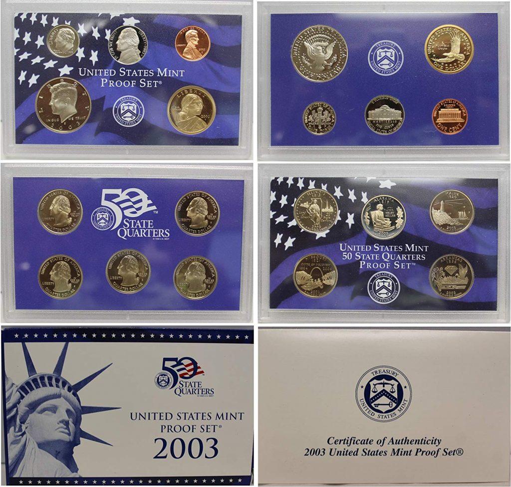2003 Mint Proof Set