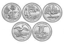 2018 America The Beautiful Quarter Set