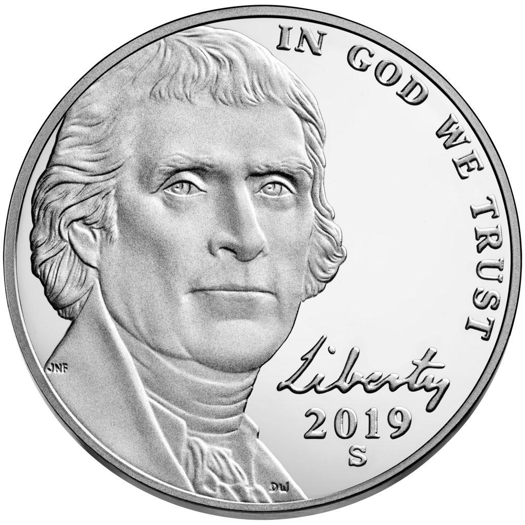 2019-S Jefferson Nickel Proof