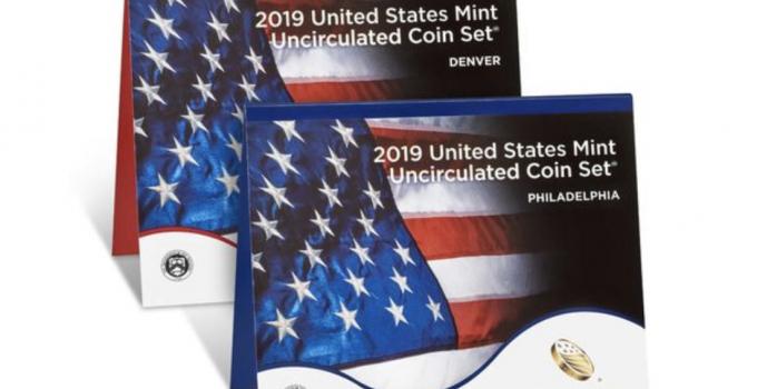 2019 US Mint Uncirculated Set