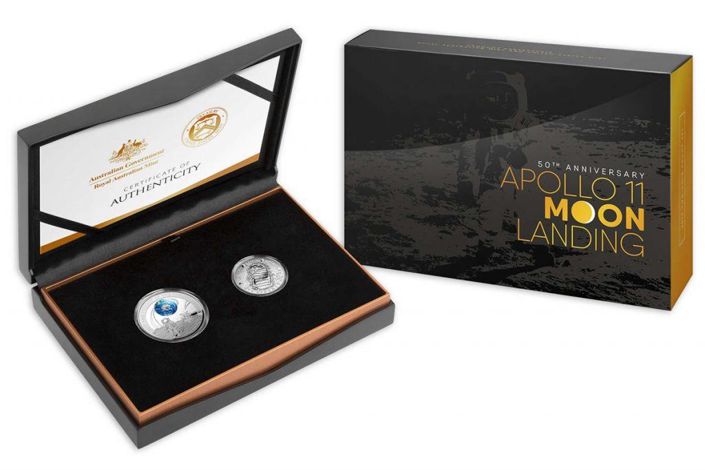 Royal Mint of Australia Apollo 11 Anniversary Proof Coin