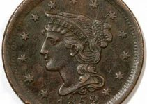 1852 Braided Hair Cent