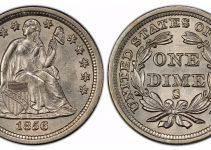 1859-S Dime PCGS MS-65
