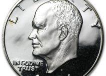 1971 Eisenhower Dollar Obverse