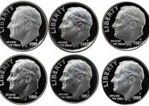 1980-1989 Roosevelt Proof Mint Set