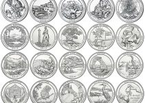 Today's Deal – Brilliant Uncirculated 2010-2018 P & D 90-Coin America The Beautiful Quarter Set