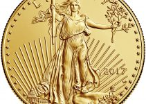 2017 Gold American Eagle