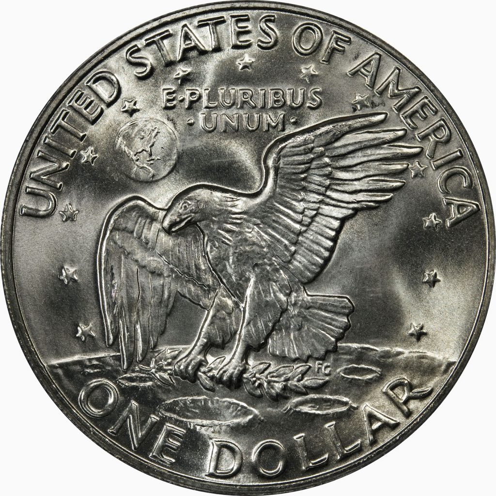 Eisenhowever Dollar Reverse