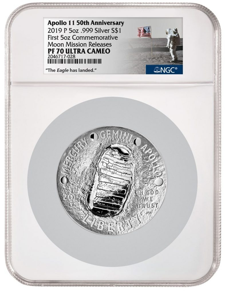 NGC Apollo 11 Commemorative Holder