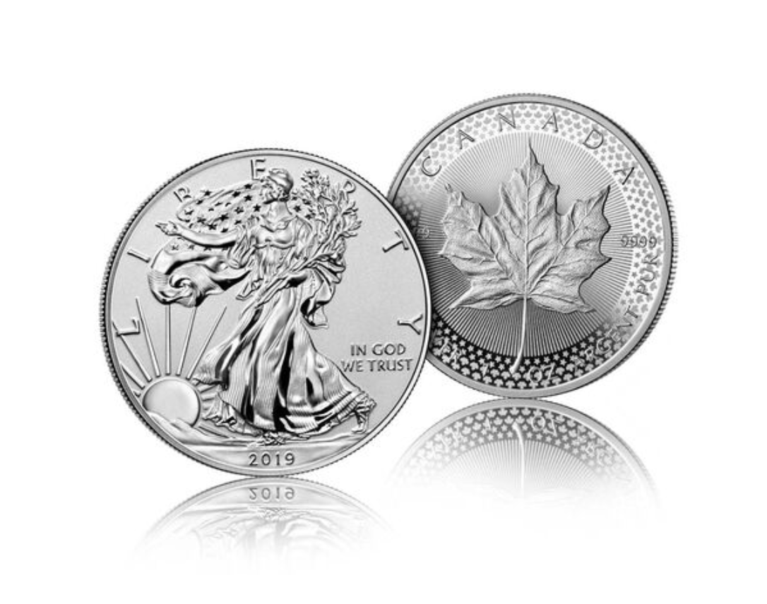 Pride of Two Nations 2-Coin Set From The United States Mint