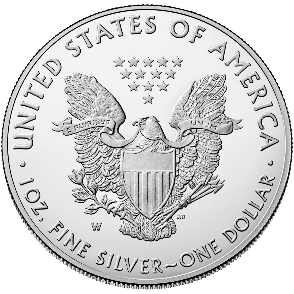 2019 American Eagle Silver Proof Reverse