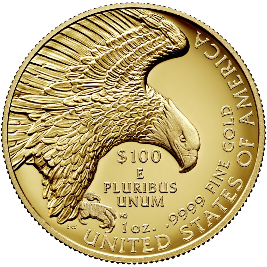 2019 American Liberty Gold Reverse