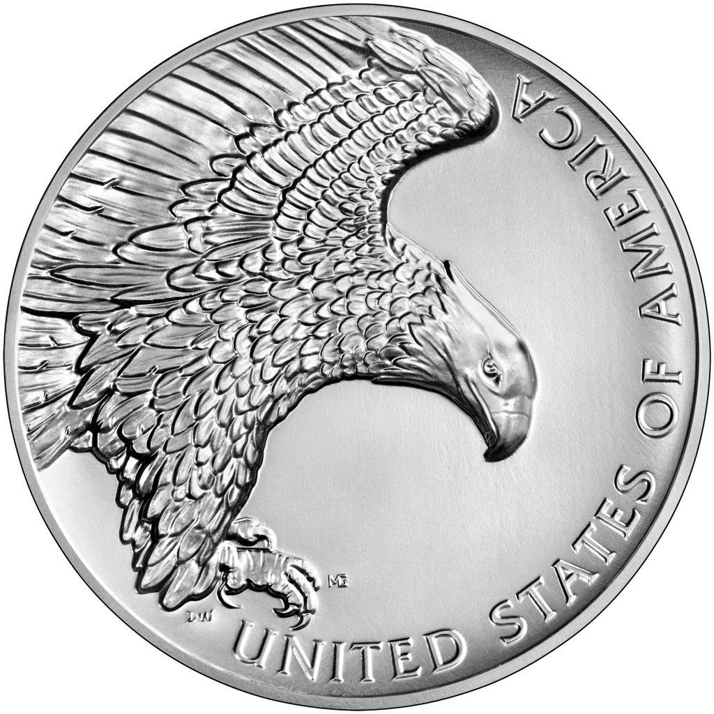 2019 American Liberty Silver Medal Reverse