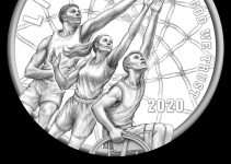 United States Mint Hosts Ceremonial Strike of 2020 Basketball Hall of Fame Commemorative Coin Program Coin