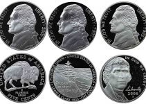 2000s Proof Jefferson Nickel Set
