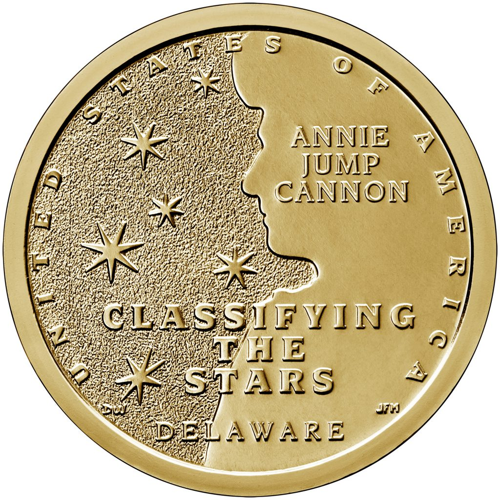 2019 Delaware American Innovation Dollar Reverse