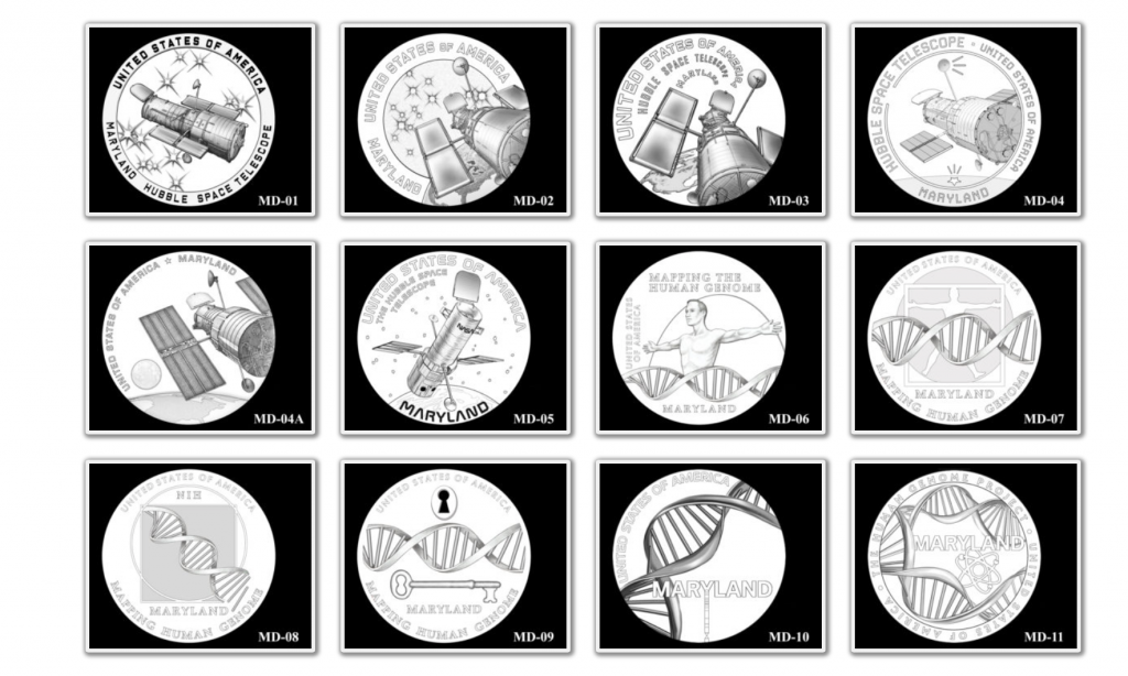 Maryland American Innovation Dollar Coin - Candidates