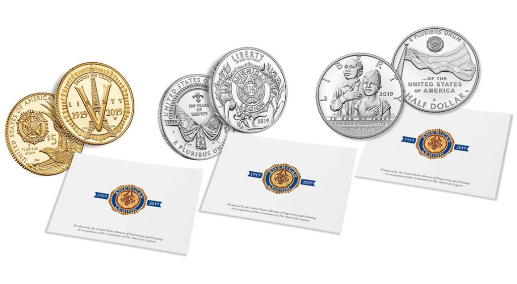 American Legion Centennial Coin & Emblem Print Sets