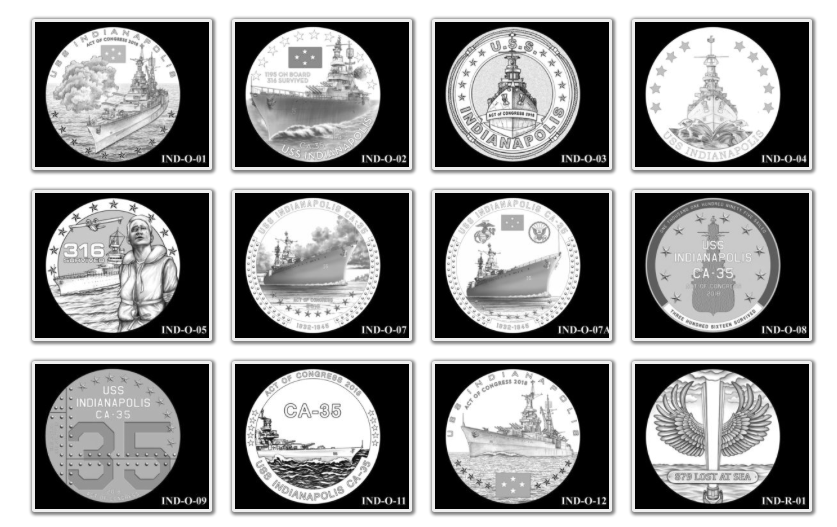 USS Indianapolis Congressional Gold Medal Candidates