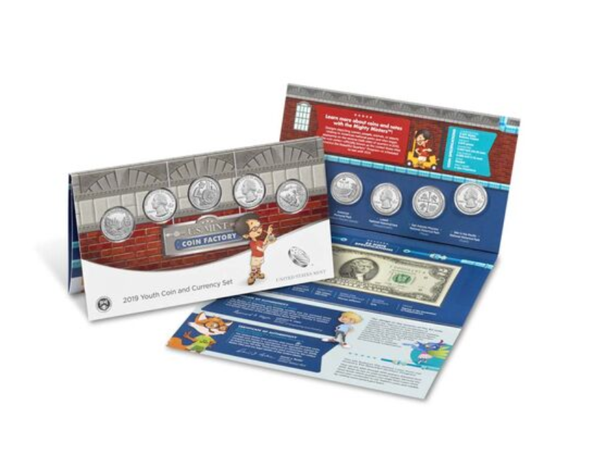 2019 Youth Coin and Currency Set