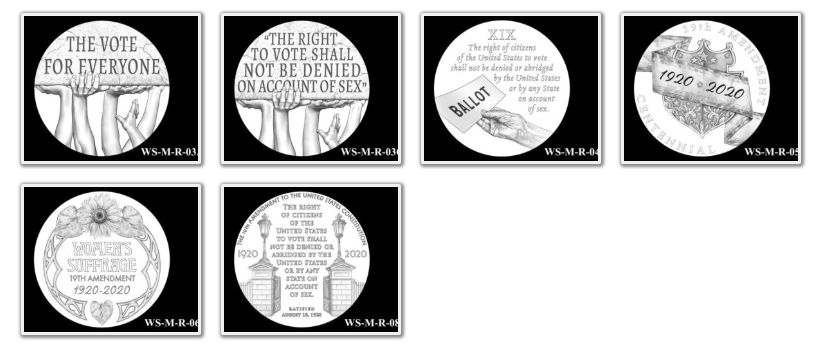 2020 Women's Suffrage Centennial Medal Page 2