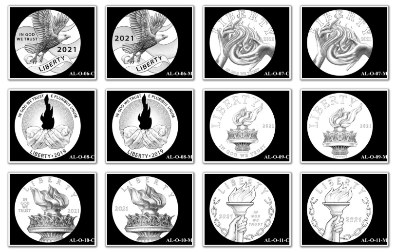 2021 American Liberty Coin & Medal Candidates Page 2