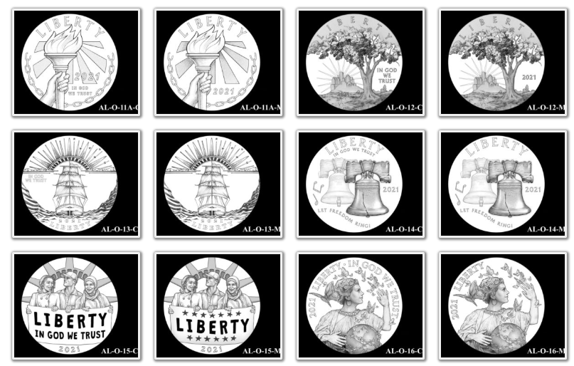 2021 American Liberty Coin & Medal Candidates Page 3