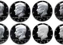 Kennedy Half Dollar 1971-1979 Proof Set
