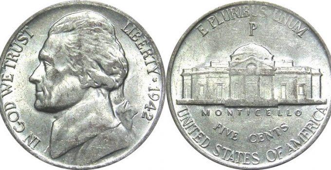 1942-P Jefferson Nickel