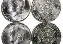 1964 P & D Kennedy Half Dollar