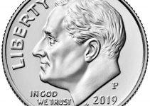 2019-P Roosevelt Dime