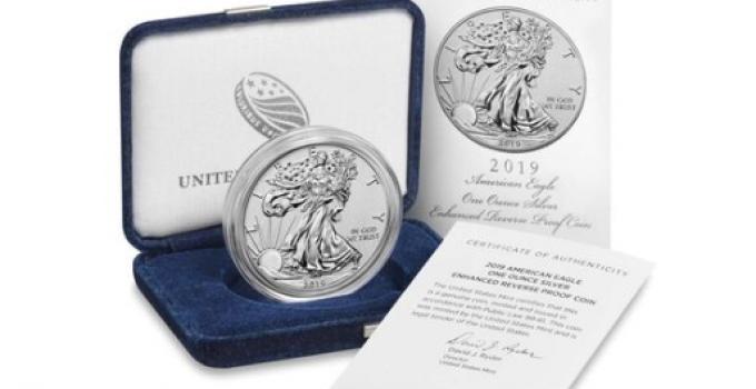 2019-S American Eagle Silver Enhanced Reverse Proof