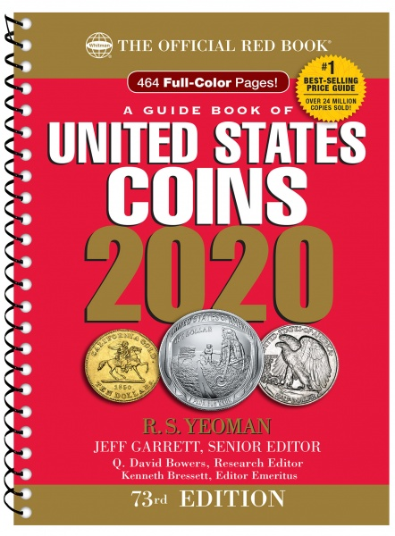 2020 A Guide Book of United States Coins Spiral-Bound