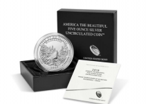 Frank Church River of No Return Wilderness 5-Ounce Silver Coin