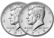 2018 Kennedy Half Dollar P&D
