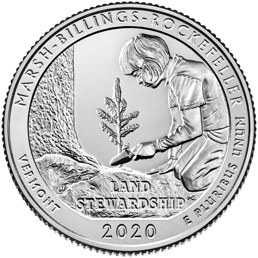 2020 Marsh-Billings-Rockefeller National Park Reverse