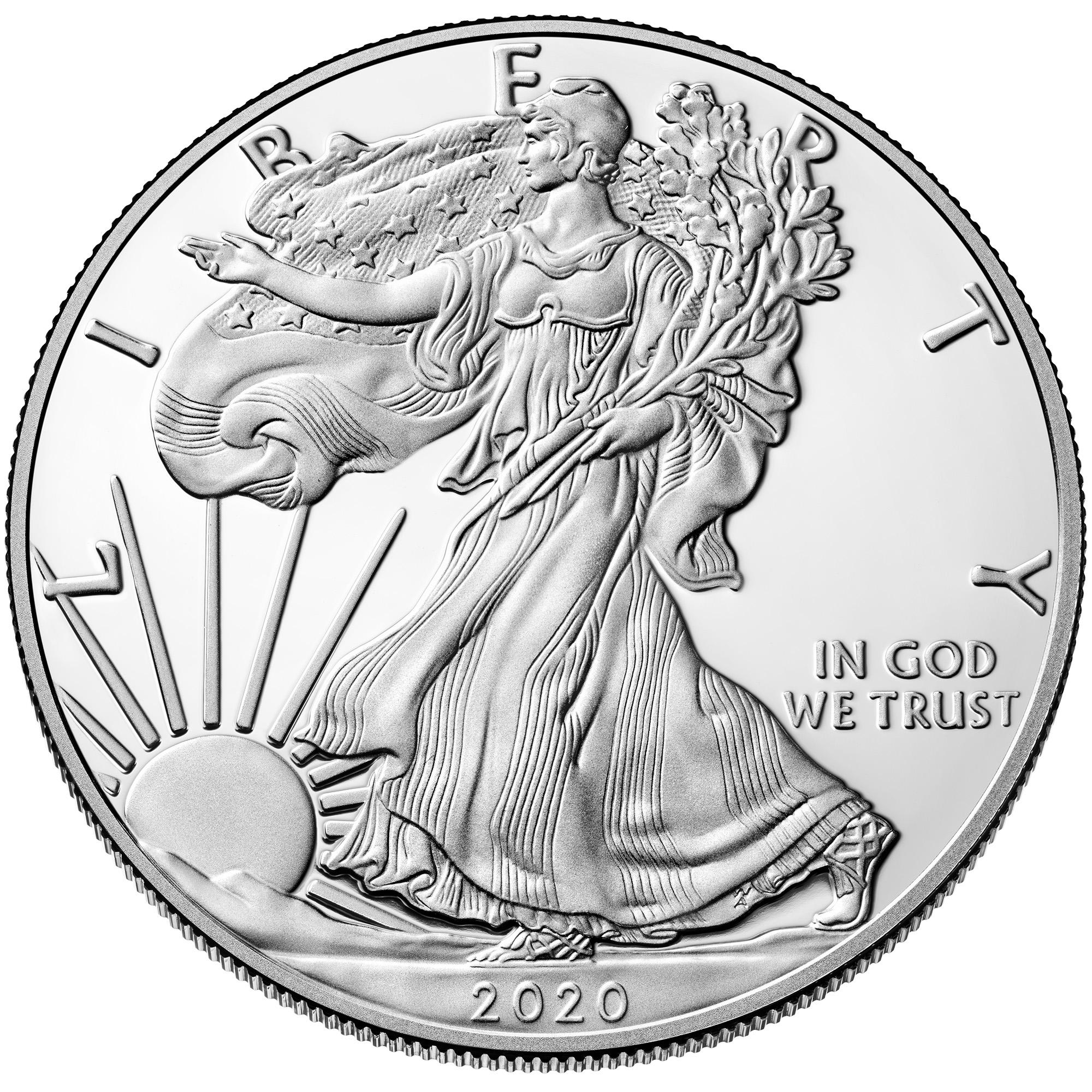 2020-W American Eagle Silver Coin