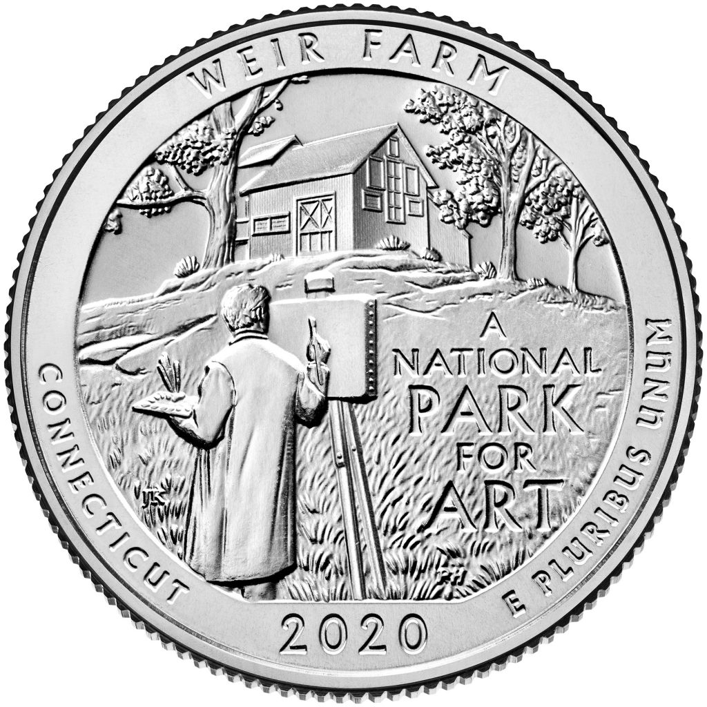 2020 Weir Farm National Historic Site Reverse