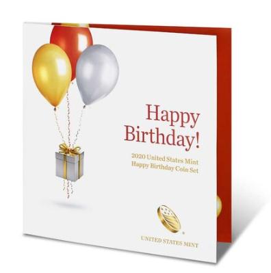 Happy Birthday Coin Set 2020