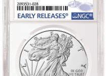 NGC 2020-W American Eagle Early Releases Label