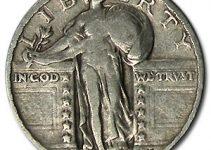 1930 Standing Liberty Quarter - Fine