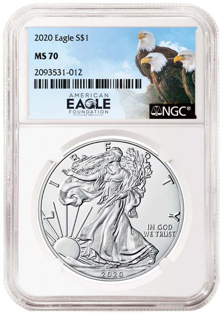 NGC American Eagle Foundation Label