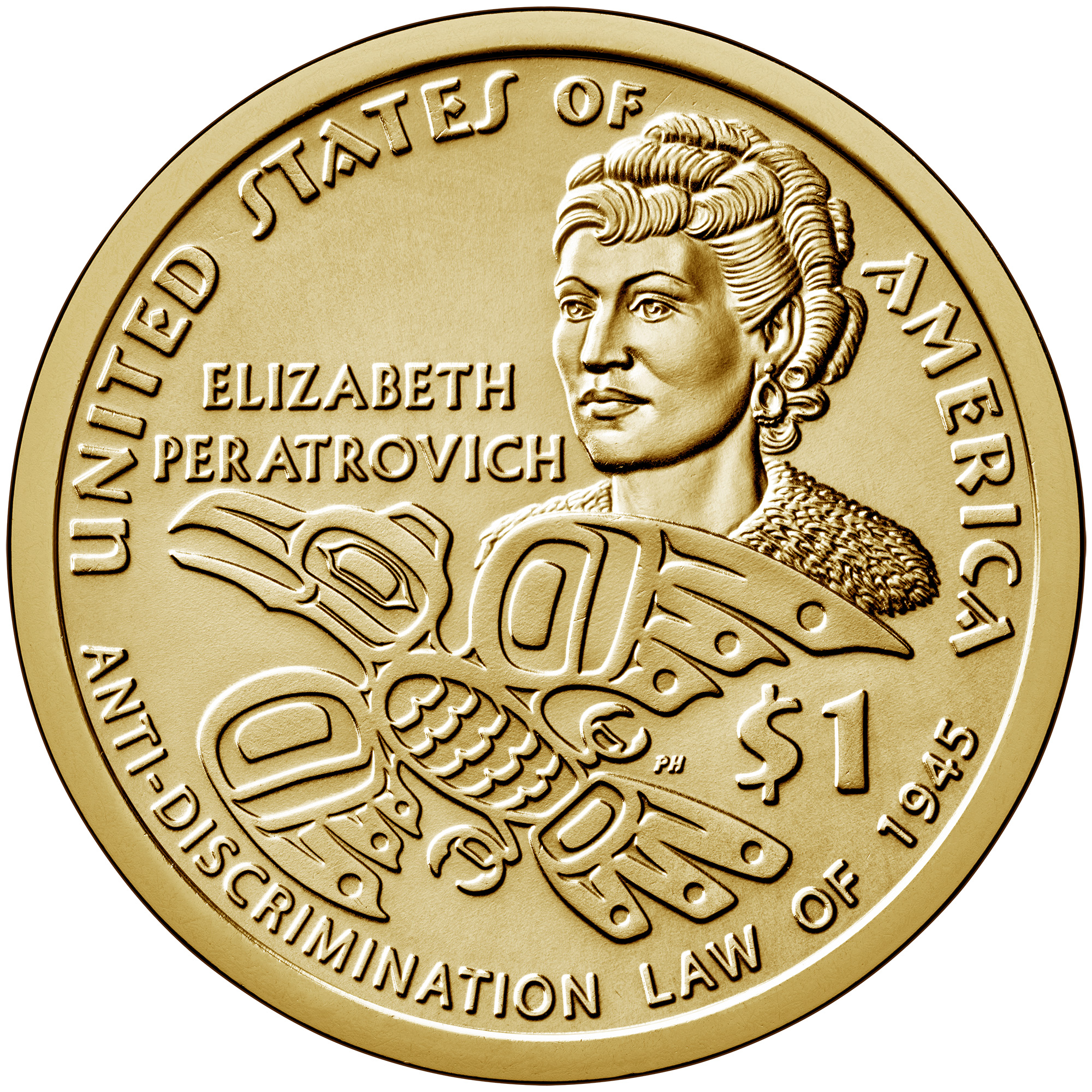 2020 Native American Dollar Reverse (Image Courtesy of The United States Mint)