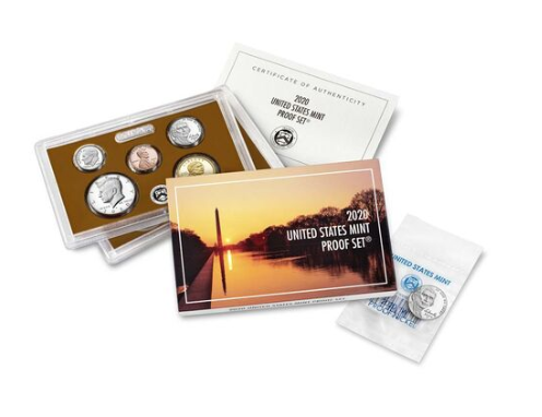 2020 U.S. Mint Proof Set