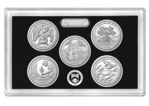 America The Beautiful 2020 Silver Proof Set