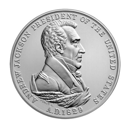 Andrew Jackson Presidential Silver Medal