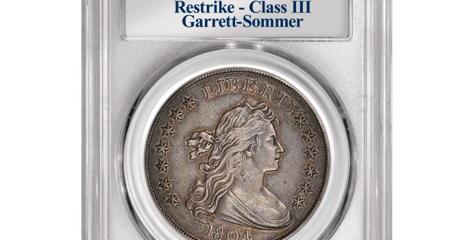 PCGS-Certified Pogue 1804 U.S. Silver Dollar Sold for $1.44 Million by Stack's Bowers