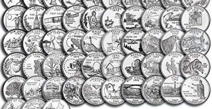 50 State Quarter Complete Set